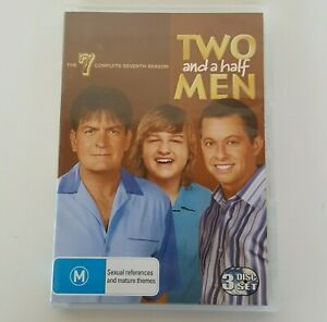 TWO and a half MEN The Complete Seventh Season 7 DVD (3 Disc Set) Pal 4