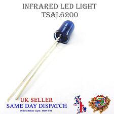940nm IR LED Lámpara Azul 5mm ir emisor tsal 6200 de alta potencia