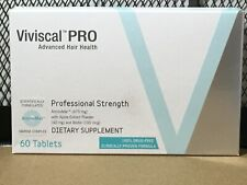 VIVISCAL PROFESSIONAL Strength 60 Tablets One Month Supply Exp 4/2021 MEN WOMEN