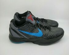 Nike Zoom Kobe 6 VI 2011 Dark Knight Dark Grey Blue Glow Size 10.5 429659-016