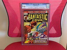 Fantastic Four #130 CGC 9.6 Inhumans Frightful Four Sandman Steranko Cover