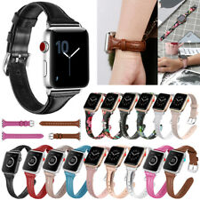 Genuine Leather Wristband Strap Band for Apple Watch Series 5/4/3/2  44mm iWatch