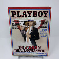 Playboy Magazine November 1980 Women of the U.S. Government