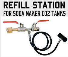 CO2 Fill Station For Home soda water Tanks.