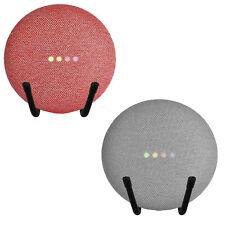 2X Universal Adjustable Stand Shelf for Google Home Mini Smart Assistant Speaker
