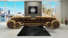 Stoff Textil  sofa Couch Textilsofa Ecksofa Couch Wohnlandschaft XXL Cotton NEU
