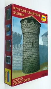 Zvezda 1/72 Scale Model Kit 8511 - Round Stone Tower