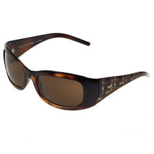 Fendi Brown Tortoiseshell Ladies Wrap Sunglasses 299 238