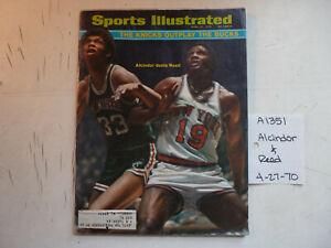 4/27/70 Sports Illustrated NBA Bucks Jabbar Knicks Reed NHL Orr MLB Brewers Boat