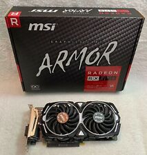 MSI Radeon RX 570 4GB GDDR5 Graphic Cards (RX 570 ARMOR 4G OC) No Cosmetic Flaws