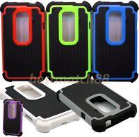 for htc evo 3d g17 HTC EVO 3D/G17 rugged hybrid hard pc rubber case 3 layer