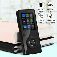 32GB MP3 Player Bluetooth MP4 Video Spieler FM Radio Recording E-book TF R0J2
