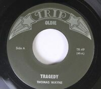 Rock 45 Thomas Wayne - Tragedy / My True Love On Trip