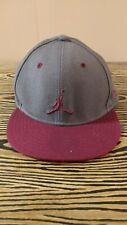 New Era 59fifty Air Jordan Jump Man 7 7/8 Hat Cap Wool Gray Maroon