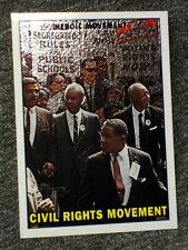 Civil Rights Movement 2009 Topps Heritage c51 Chrome Heroes Card #d/ 1776 ! Rare