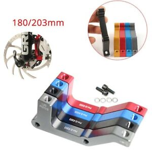 Bike Disc Brake Caliper Mount Adapter Front 160//180 Rear 140//  HVWOUK