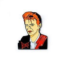David Bowie Tribute Enamel Pin