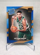 2017/18 Jayson Tatum Panini Donruss Rated Rookie #198 Boston Celtics