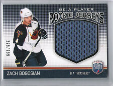 2008-09 BE A PLAYER ZACH BOGOSIAN ROOKIE JERSEY BAP ROOKIE /299 THRASHERS