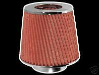 RED INDUCTION KIT AIR FILTER FOR PEUGEOT 307 308 406