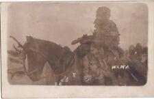 NIGERIA - CARTE PHOTO DE 1916 - WAIVA - SORCIER - WIZARD.