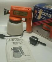 Vtg Airless Paint Spray Gun Electric Cobra Industrial Original Box ASG-IT $119