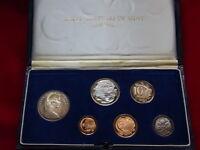 Australia.  1966 PROOF SET.. In Dark Blue Case..  6 Coins