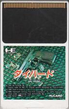 """ DIE HARD "" PC-Engine Hu CARD HE SYSTEM PCE JAPAN JAPANESE GAME"