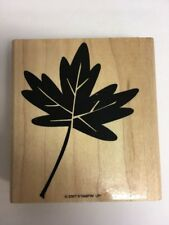 STAMPIN' UP! Maple Leaf Rubber Stamp 2007