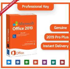 Microsoft®Office 2019 PROFESSIONAL PLUS 32/64 BIT LICENSE KEY