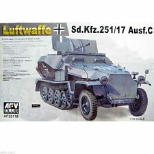 1/35 AFV Club German Luftwaffe Sd.Kfz.251/17 Ausf.C #35118