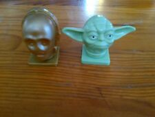 LOT DE 2 TETES STAR WARS IDEE CADEAU