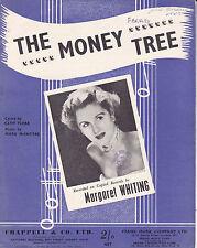 THE MONEY TREE Margaret Whiting / Sheet Music