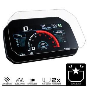 BMW F900R (2020+) Armaturenbrett Tacho Displayschutzfolie 2 x Ultra Klar