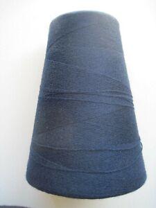 Yarn Cone 305g Patons Navy Blue 2/36 Machine, Hand Knitting Crochet