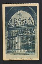 2349.-CUENCA -Catedral. Verja del Altar Mayor