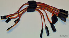 (5) JR / Hitec Y Servo Extension Leads / Splitters with 15CM 22awg Wire
