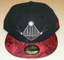 Villain Element New Era Cap Hat Fitted 7 5/8 Darth Vader 59Fifty Under Brim Logo
