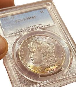 1881-O MS65 Morgan Silver Dollar PCGS Better Date Excellent Grade VS Strike