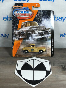 2018 MATCHBOX COLOR CHANGERS* '57 GMC Stepside FREE SHIPPING