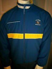U.S. Open 2006 Winged Foot Womens Xl Blue/Yellow Ful Zip Volunteer Jacket