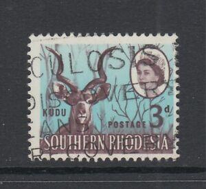 "Southern Rhodesia, Scott 98 var (SG 95 var), used ""Birds Nest"" (R. 17/11)"
