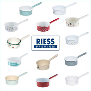 Saucepan | 0.75 L | Original RIESS | Handmade in Austria | Premium Enamel
