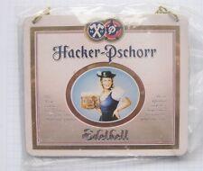 HACKER-PSCHORR  / EDELHELL / MÜNCHEN ........ ZHS / Zapfhahnschild (62)