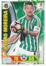 242 PEDRO MOREIRA PORTUGAL RIO AVE.FC CARTAO CARD ADRENALYN LIGA 2017 PANINI
