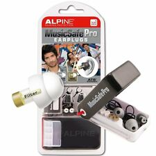 Alpine MusicSafe Pro filtered Music Safe Ear Plugs Hearing Protection White BNIB