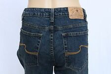 NWOT US Polo Assn Womens Jeans Size 12 stretch Boot Cut Mid Rise  denim blue