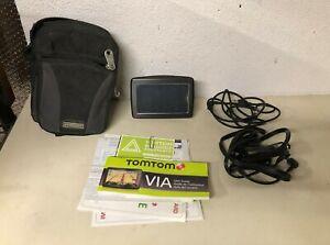 TOM TOM MODEL 4EV42 Z1230 GPS WITH CASE USB & 12V CABLES AND MANUAL BUNDLE