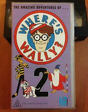 WHERES WALLY Vol2 - VHS