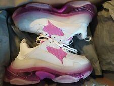 BalenciagaTriple S trainer white-pink clear sole calfskin,lambskin Size 4 Uk 37